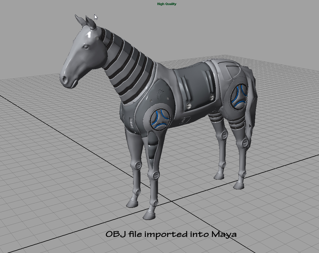 Importing Lightwave files into Maya